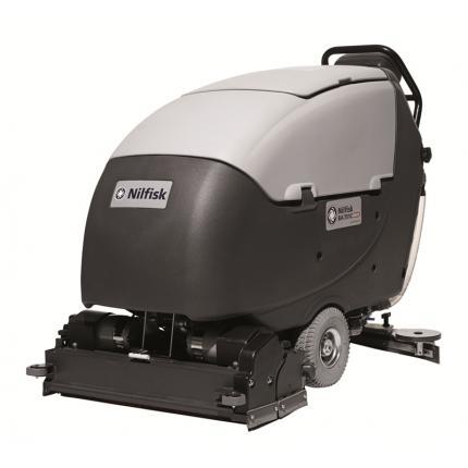 丹麦力奇BA651手推式洗地机全自动洗地机 大型电瓶式洗地机 双刷