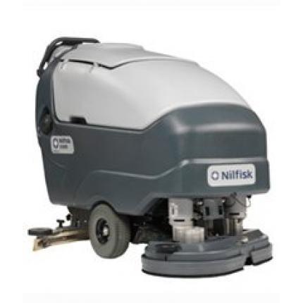 丹麦力奇先进SC800大型手推自走式洗地吸干机 全自动洗地机 自走式洗地吸干机