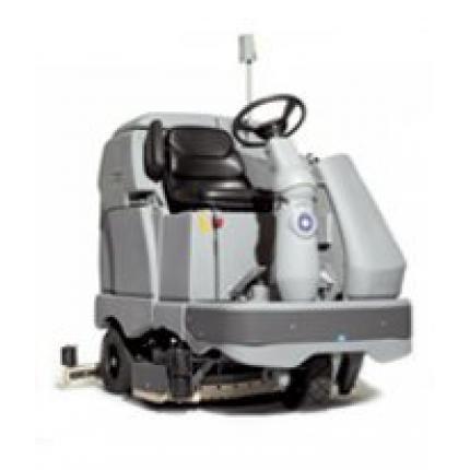 丹麦力奇先进BR1300S 全自动洗地吸干机 驾驶式洗地吸干机