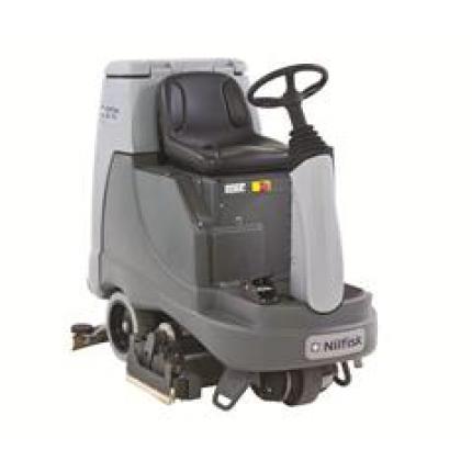丹麦力奇先进BR855驾驶式洗地吸干机 力奇洗地机 进口洗地机