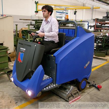 意大利道路宝Dulevo1020驾驶式洗地机 驾驶式洗地车 进口洗地机