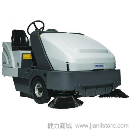 丹麦力奇先进Nilfisk SR1601驾驶式工业扫地机大型户外扫地机柴油机