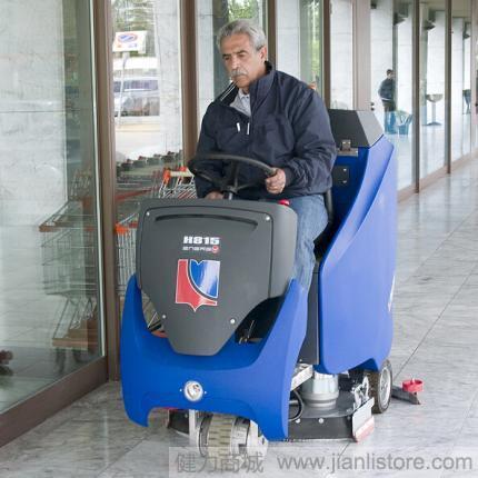 意大利道路宝Dulevo H815驾驶式洗地机 进口洗地机 道路宝洗地机