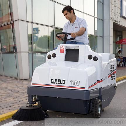 道路宝Dulevo1100驾驶式扫地车 道路清扫车 马路扫地机/扫地车