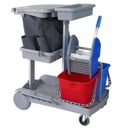 CT施达清洁服务车 JT60轻巧全能排拖型 轻巧型清洁服务车 多功能清洁车