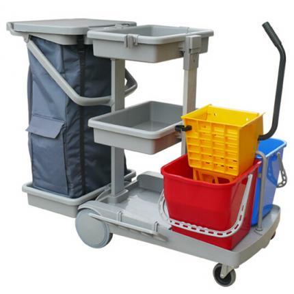 CT清洁服务车 JT H150全能排拖型(配侧压式榨水器)进口多功能清洁车