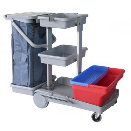 CT施达JT 135全能平拖型清洁服务车 全能平推型 CT清洁服务车