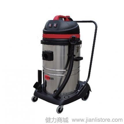 威霸清洁设备VIPER LSU275吸尘吸水机 75L双马达吸尘吸水机 不锈钢桶身