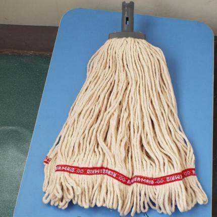 特惠进口iRubbermaid乐柏美湿拖把拖布 混纺棉纱水拖 配Q750使用