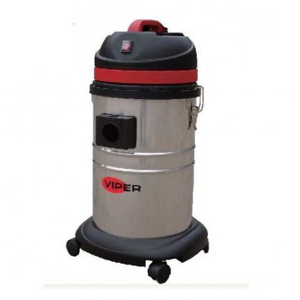 威霸清洁设备VIPER LSU135干湿两用吸尘器35L吸尘吸水机单马达不锈钢桶身