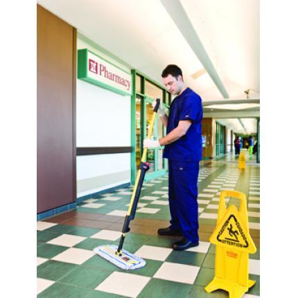 乐柏美Rubbermaid 脉冲式地板清洁系统 自动喷水拖把 家用喷水拖把 平板拖把1835528