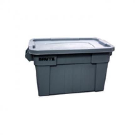 乐柏美rubbermaid FG9S3000 BRUTE™ 大型搬运箱, 连盖53L
