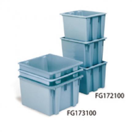 乐柏美 rubbermaid FG172200 可堆叠﹑套叠的 Palletote™ 搬运箱