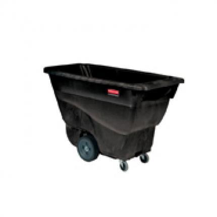 rubbermaid 乐柏美 FG9T1300 胶棉倾斜斗车,多用途型