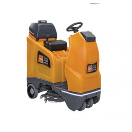 庄臣特洁Swingo2100紧凑型座驾式酒店商场物业保洁全自动洗地机
