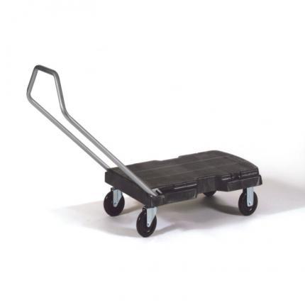 乐柏美 rubbermaid FG440000BLA 三用手推车 多用途型  带直手柄和3英寸脚轮
