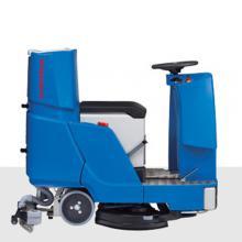 奥林匹斯洗地机RA85BM120驾驶式洗地机工厂物业保洁洗地机