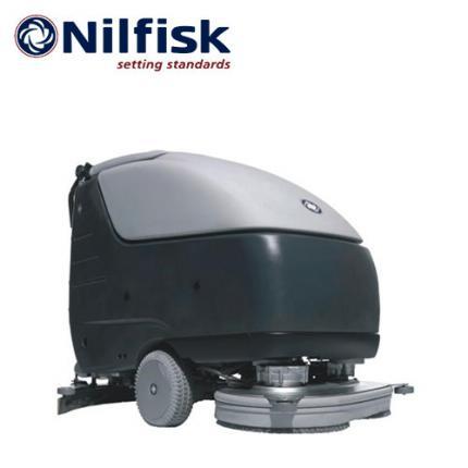 丹麦力奇SC800 86手推式洗地机电瓶自走式盘刷洗地机,带ecoflex