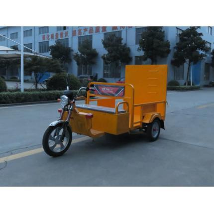亚伯兰ZM3LT240-4G三轮四桶干电池垃圾分类车