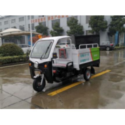 亚伯兰ZMLT240-4S三轮四桶水电池垃圾分类车