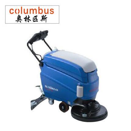 奥林匹斯RA55B40手推洗地机工厂洁净型洗地机