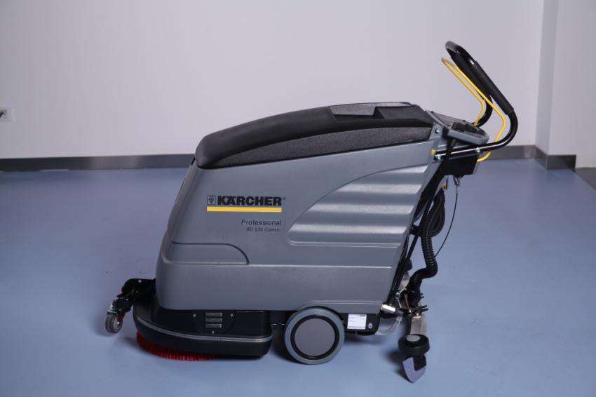 德国凯驰 工业商业紧凑型洗地机洗地吸干机BD530洗地机