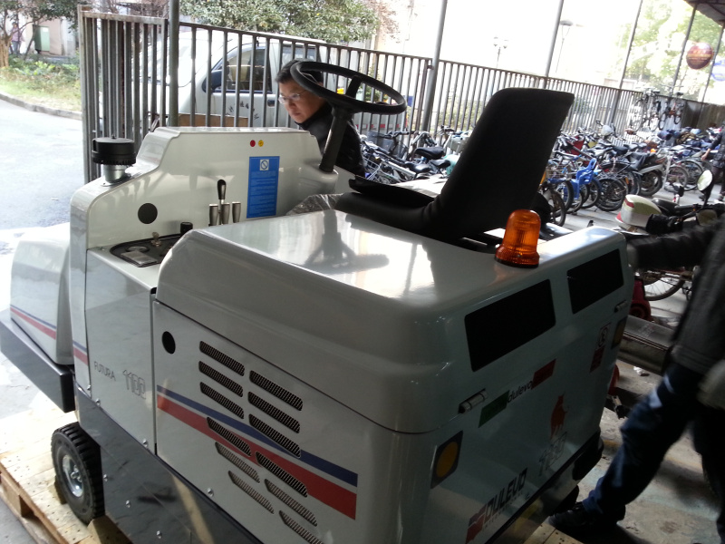道路宝Dulevo 1100扫地车 驾驶式扫地车 道路清扫车 马路扫地机/扫地车