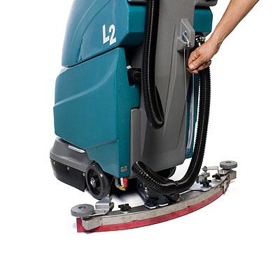美国坦能工厂商厦商超专用手推式洗地机L2