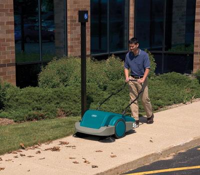 美国坦能工厂写字楼餐饮酒店医院商超公共场所专用手动型扫地机s3