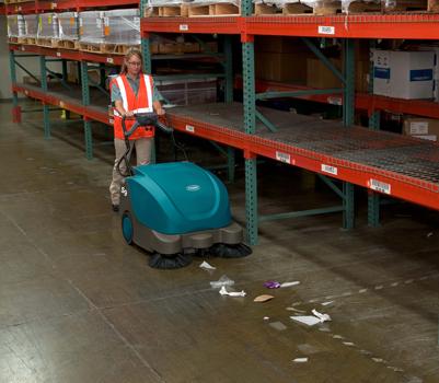 美国坦能工厂写字楼餐饮酒店医院商超公共场所专用大型电瓶扫地机S9