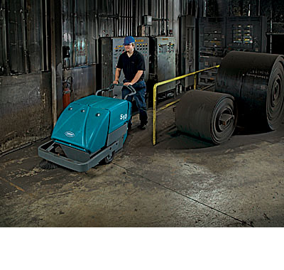 美国坦能工厂写字楼餐饮酒店医院商超公共场所专用 工业手推式扫地机s10