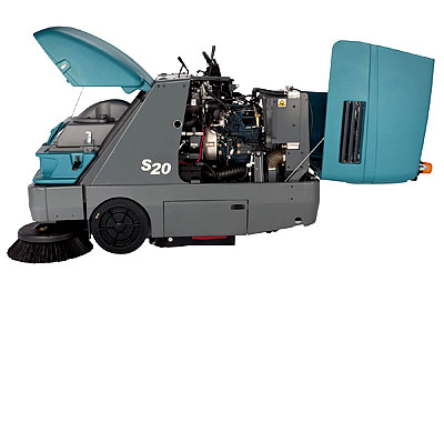 美国坦能工厂写字楼餐饮酒店医院商超公共场所专用 紧凑式中型驾驶式扫地机s20