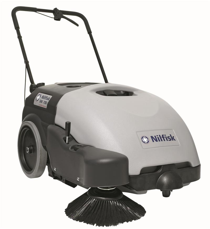 丹麦力奇先进SW750单边刷电瓶驱动手推式扫地机 力奇扫地机