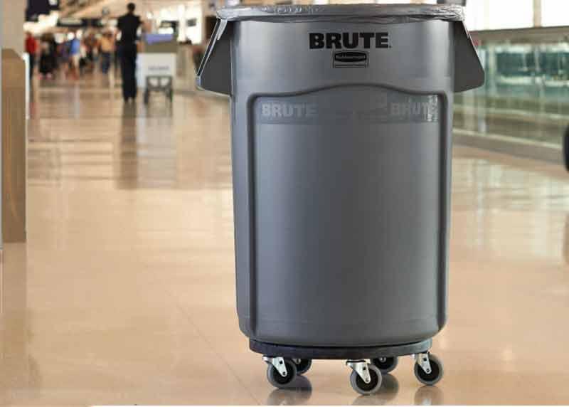 乐柏美 Rubbermaid FG263100 BRUTE™ 32加仑贮物桶桶盖