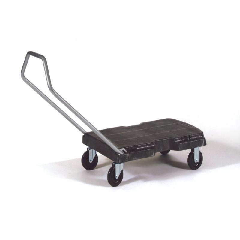 Triple®三用手推车﹐标准用途﹐带手柄和(12.7cmx2.22cm)脚轮